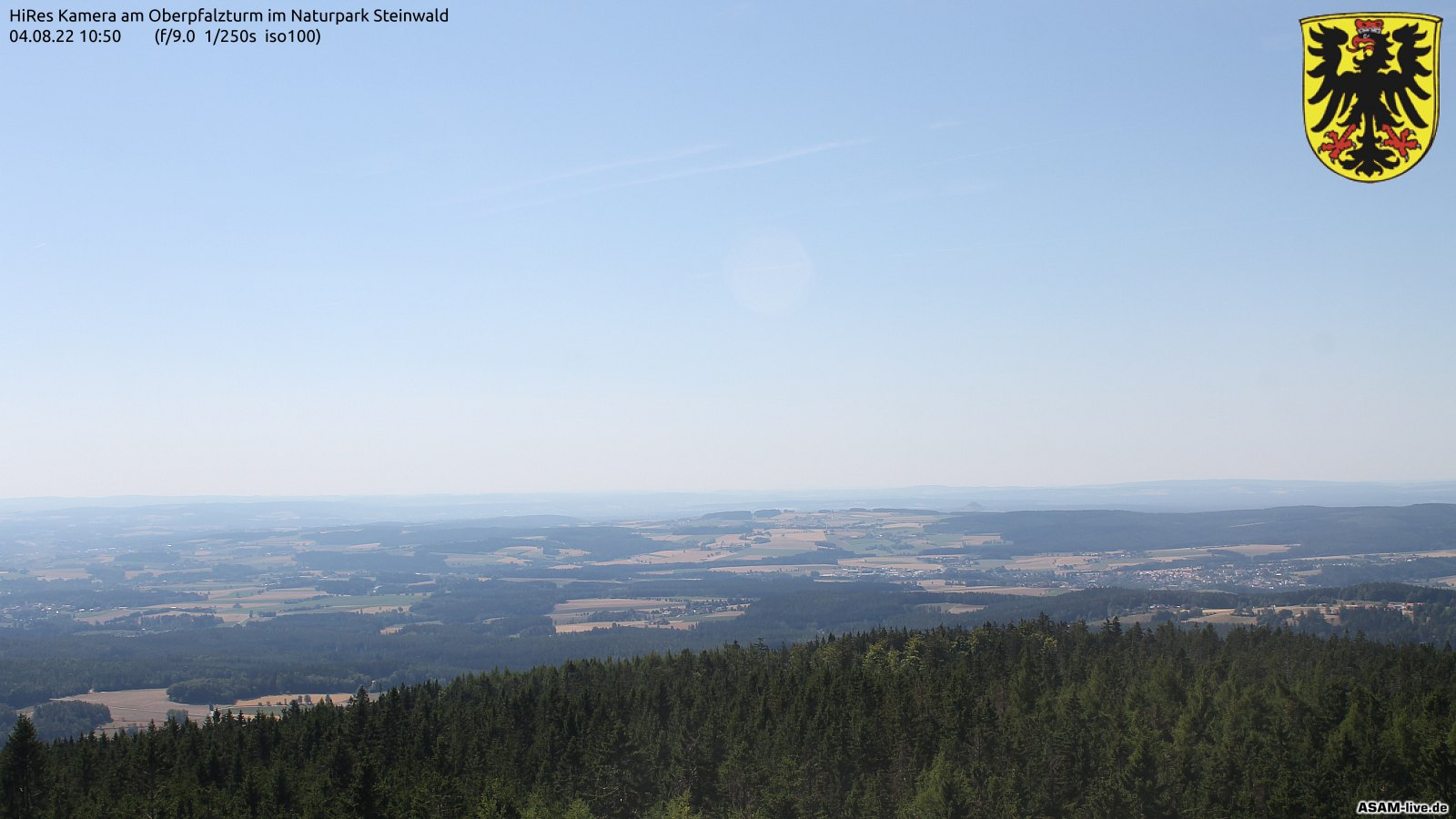 Webcam Oberpfalzturm